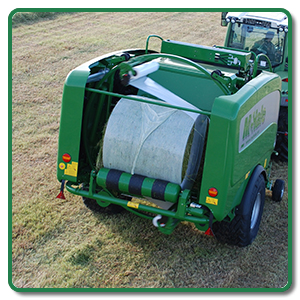 Integrated Bale Wrapper